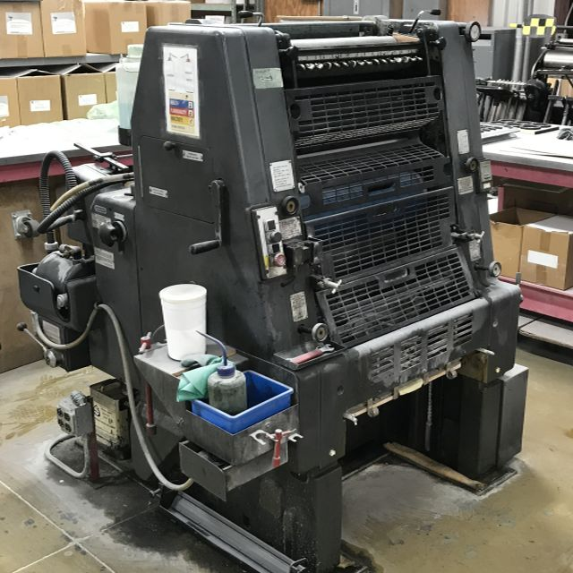 1985 Heidelberg GTO52 single color press