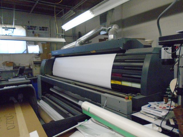 HP Scitex XL 1500 Printer for large signs
